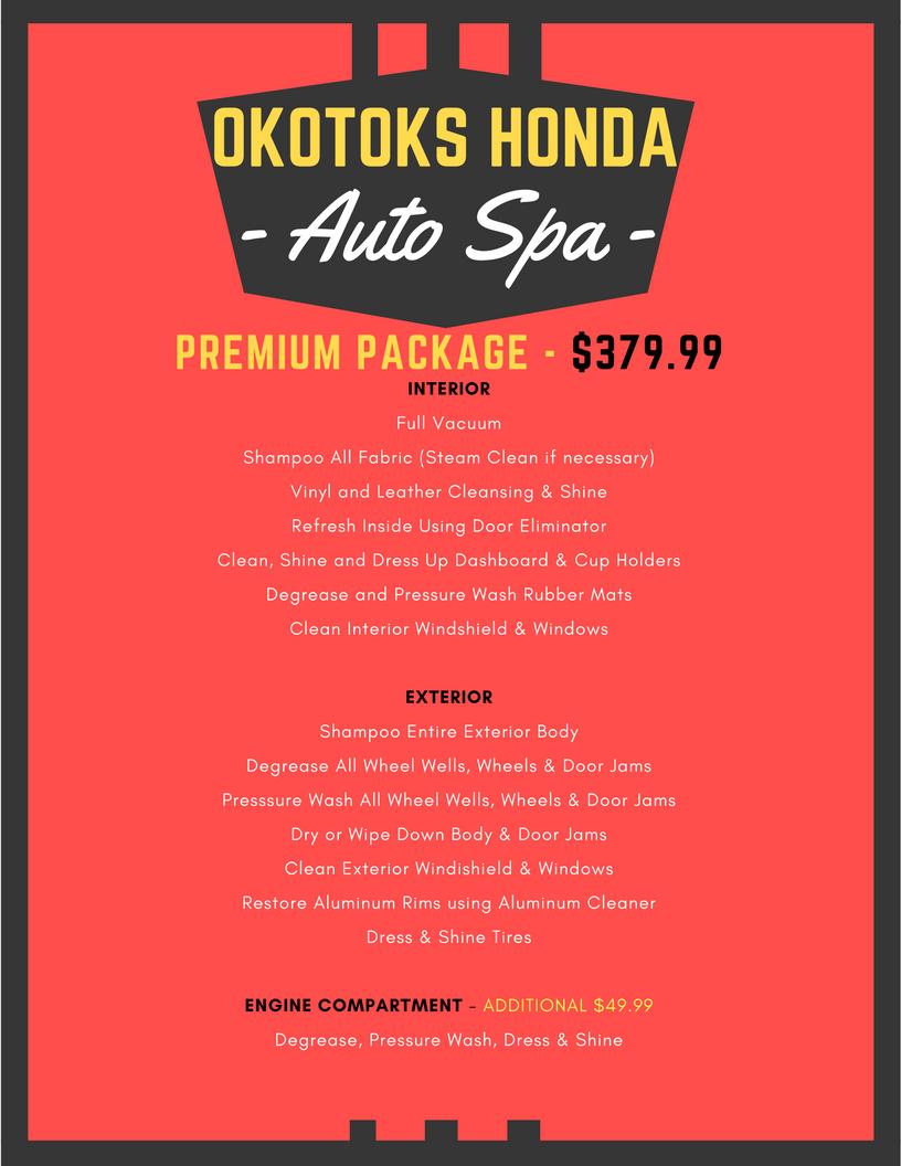 Rubber mats alberta - Okotoks Honda Auto Spa Detail Services In Okotoks South Calgary