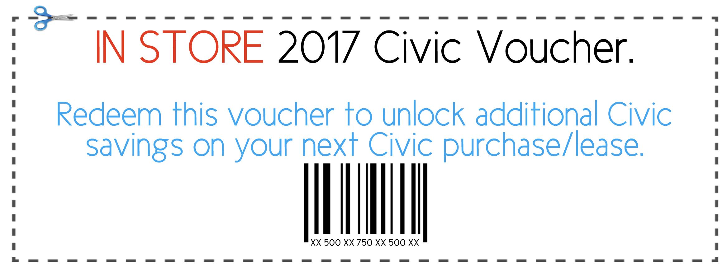 2017 Honda Civic Bonus at Okotoks Honda, South of Calgary