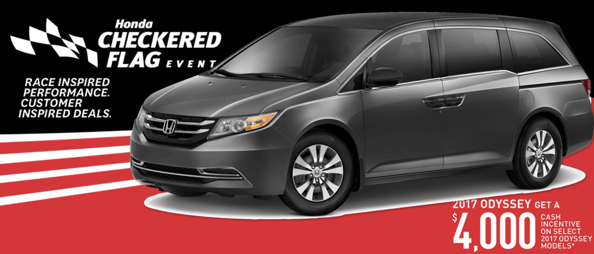 2017 Honda Odyssey Savings