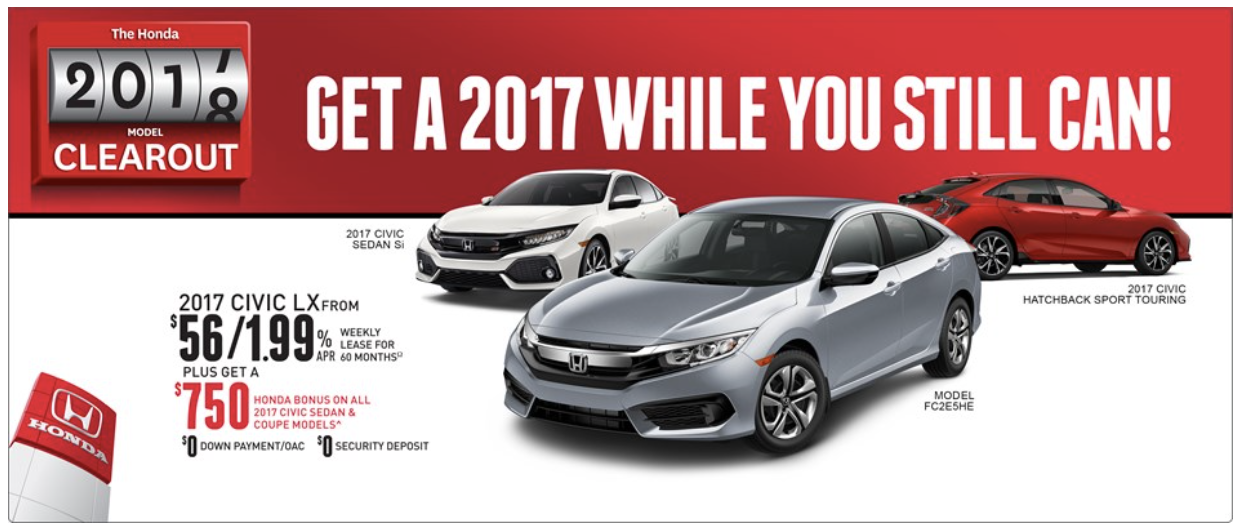 2017 Honda Civic Savings
