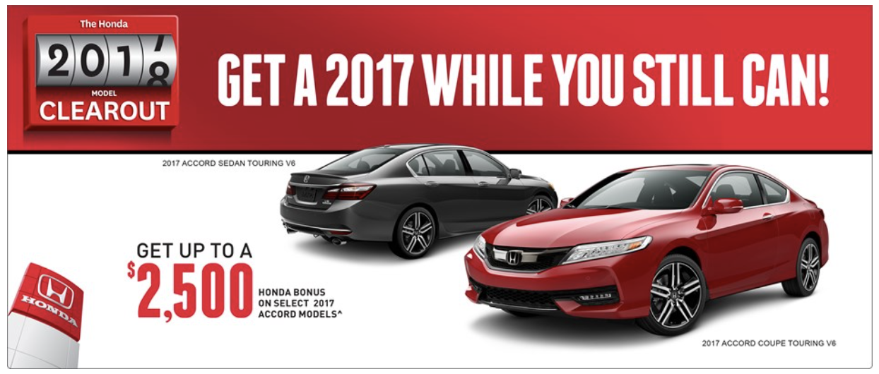 2017 Honda Accord Savings