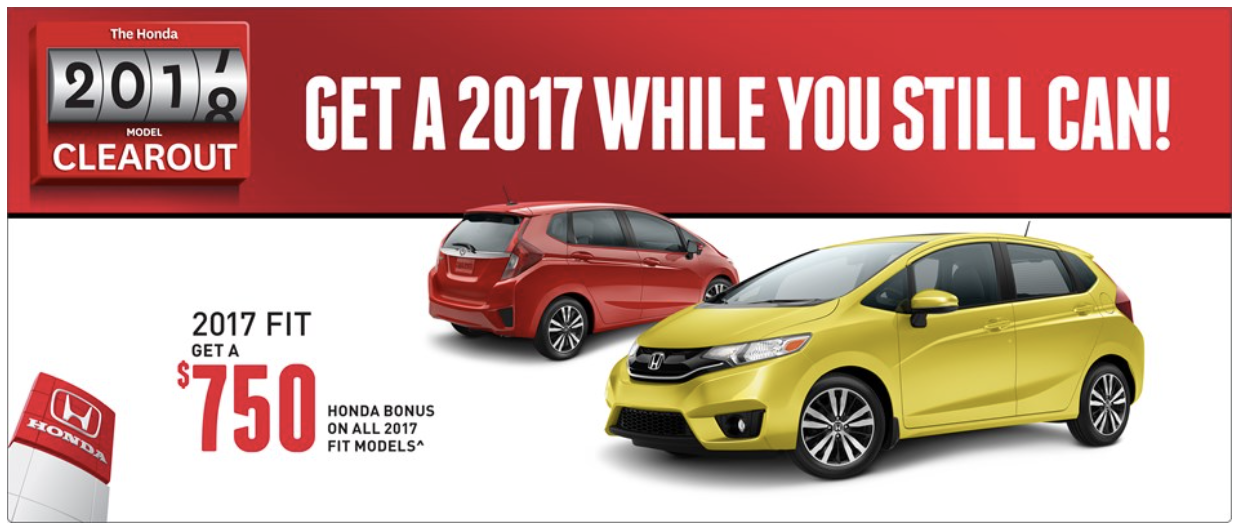 2017 Honda Fit Savings
